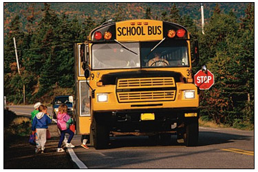 "A ""Lance-less"" School Bus."