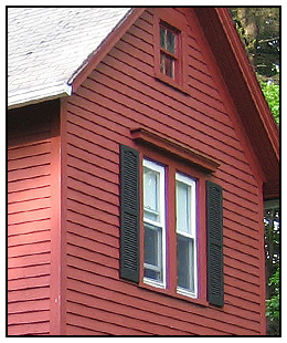 Original Roof and Siding - Summer 2006