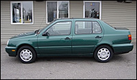 Green 1997 VW Jetta GL