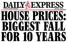 Housing Slump Headline