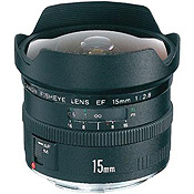 Canon EF 15mm f/2.8 Fisheye Camera Lens