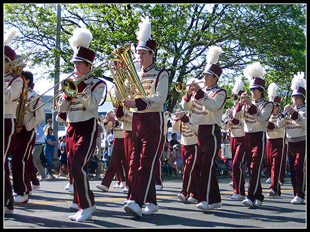 Memorial Day 2008: High School Marching Band