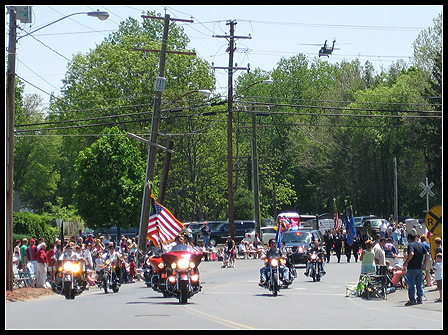 Memorial Day 2008: Small town parade.