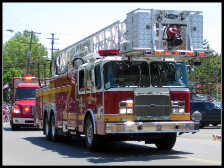 Memorial Day 2008: Fire Engine