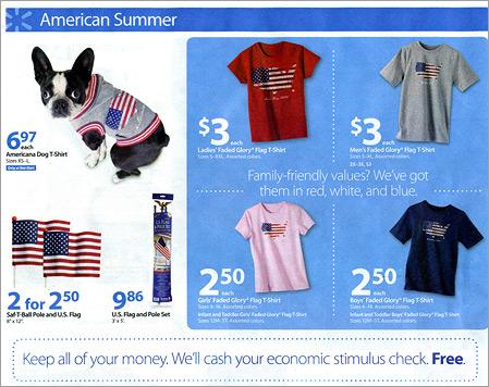 Walmart Flyer - $3 T-Shirts