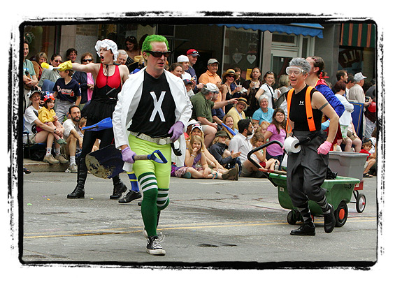 Strolling of the Heifers 2008 — Gay & Lesbian Pooper Scoopers