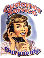 Customer Service certainly isn't what it used to be…