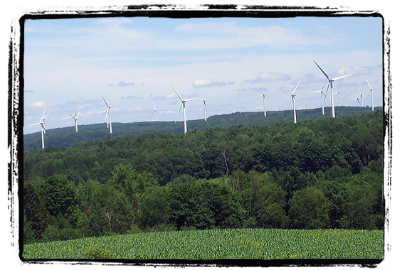 Upstate New York Wind Farm