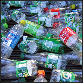 The returnable bottles we didn't return.