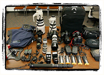 Camera Equipment — Before it was catching dust…
