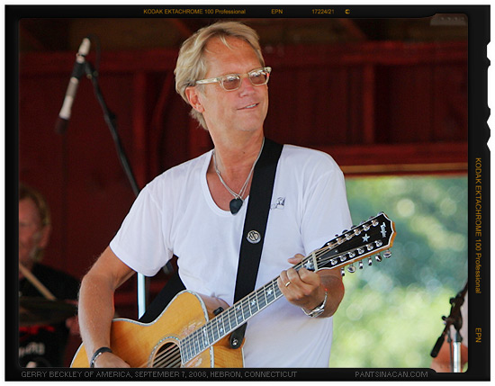 Gerry Beckley of the rock band America