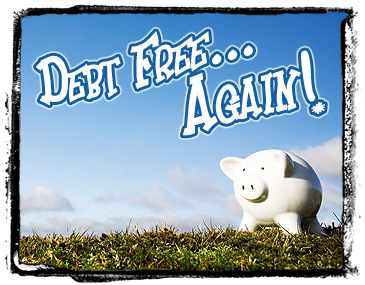 Debt Free...again!