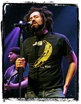 Adam Duritz -- Yeah, he sang Mr. Jones.