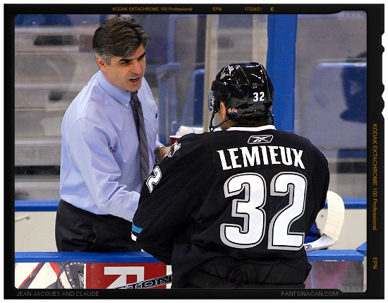 J.J. Daigneault and Claude Lemieux