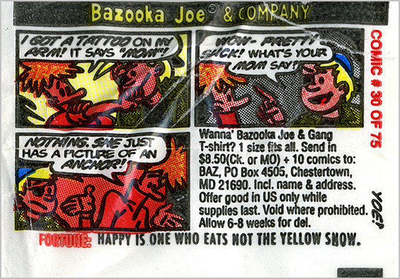 Bazooka Joe Fortune