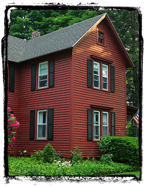Some New England style house...