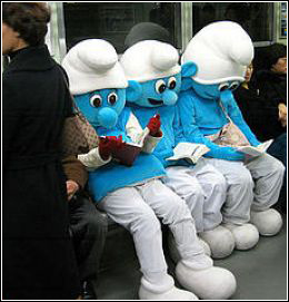 Smurfs are cool.  I don't care what you say...  they are.  That's a fact.