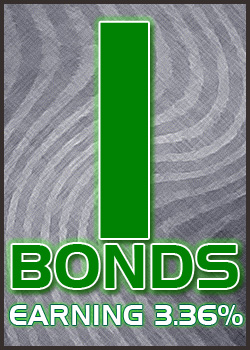 I-Bonds are earning 3.36%