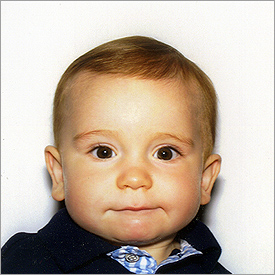 Infant US Passport Photo