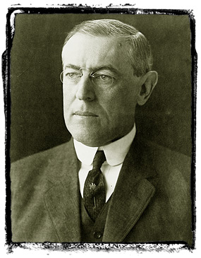 President Woodrow Wilson