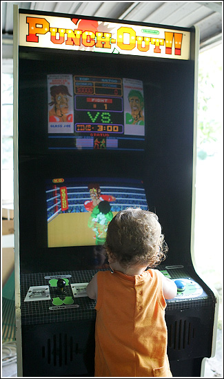 Nintendo Punch-Out!! Arcade Game