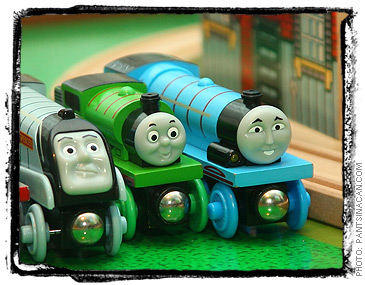 Spencer, Percy, and Gordon