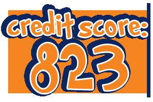 823 Credit Score